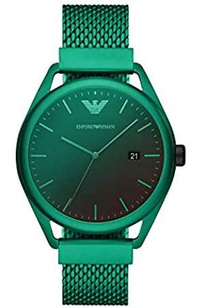 Emporio Armani Hombre Relojes - Reloj Analógico para de los Hombres de Cuarzo con Correa en Aluminio AR11326