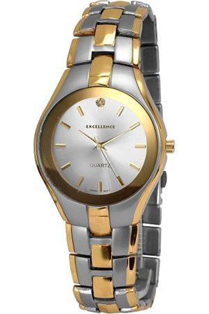 Excellanc 280012500133 - Reloj analógico de caballero de cuarzo con correa de aleación