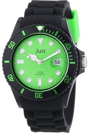 Just Watches - Reloj analógico de Cuarzo Unisex con Correa de Silicona