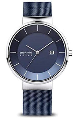 Bering Reloj Analógico Solar Collection para Hombre de Energía Solar con Correa en Acero Inoxidable & Cristal de Zafiro 14639-307