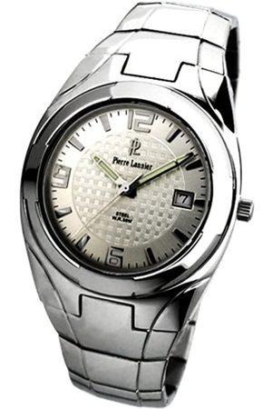 Pierre Lannier Hombre Relojes - 264B121 - Reloj analógico de Cuarzo para Hombre con Correa de Acero Inoxidable