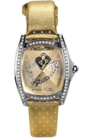 Hello Kitty Reloj Analógico para Mujer de Cuarzo con Correa en Piel 143D628