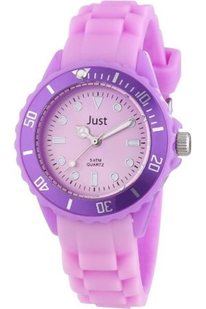 Just Watches Rubber Strap Collection 48-S5459-PR - Reloj analógico de Cuarzo Unisex