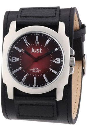 Just Watches Hombre Relojes - 48-S9238BK-BR - Reloj analógico de Cuarzo para Hombre