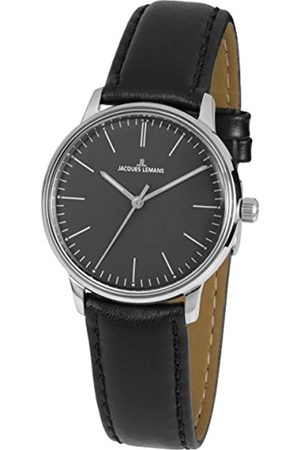Jacques Lemans Reloj Analógico para Hombre de Cuarzo con Correa en Cuero N-217A