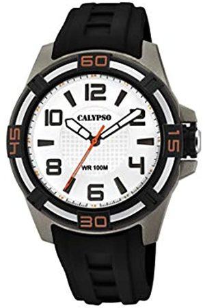 Calypso Reloj Analógico para Unisex Adultos de Cuarzo con Correa en Plástico K5760/4