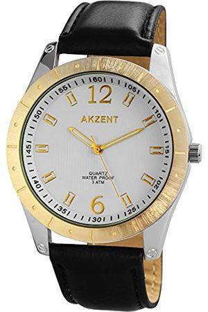 Akzent Hombre Relojes - SS7701000023 - Reloj de Pulsera Hombre, Varios Materiales