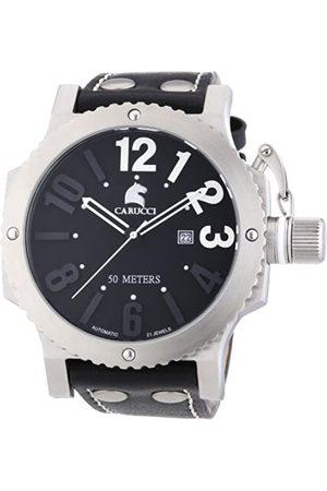 Carucci Watches CA2211BK - Reloj de Pulsera Hombre, Caucho