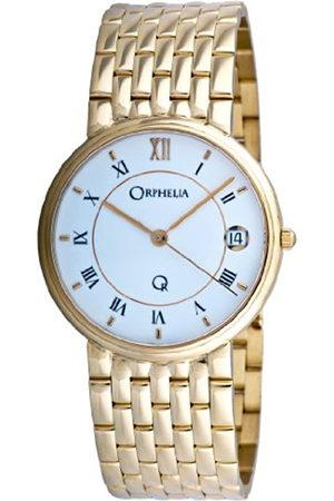 ORPHELIA Mon-7053 - Reloj analógico de Cuarzo para Hombre con Correa de Oro