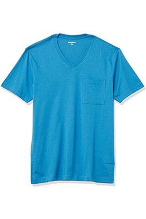 Goodthreads Hombre Polos - Short-Sleeve V-Neck Cotton Pocket T-Shirt Fashion-t-Shirts