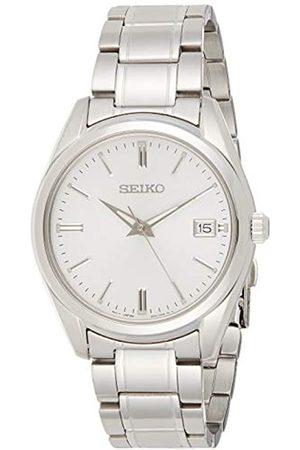 Seiko UK Limited - EU Reloj Hombre de Cuarzo analógico con Correa en Acero Inoxidable SUR307P1