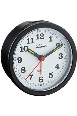 Atlanta Hombre Relojes - 056/7 - Reloj Despertador analógico Negro