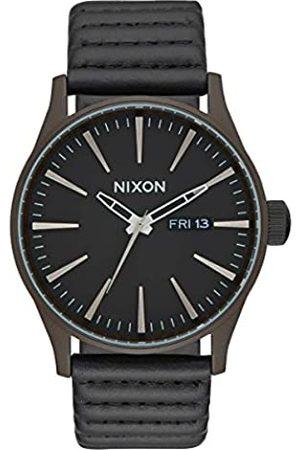 Nixon Hombre Relojes - Reloj Analógico para Hombre de Cuarzo con Correa en Cuero A105-2138-00