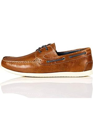 FIND Hombre Loafers - Ardmore_HS01 Náuticos, (Causal Tan Causal Tan)
