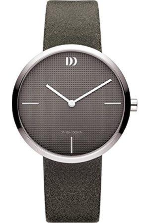 Danish Design Hombre Relojes - Reloj Analógico para Hombre de Cuarzo con Correa en Cuero IV14Q1232