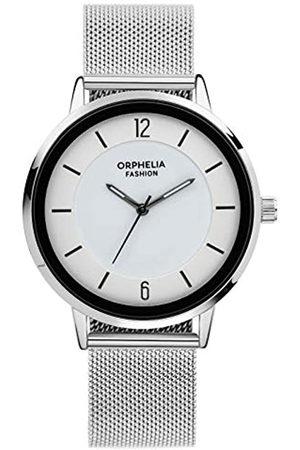 ORPHELIA Reloj Analógico para Hombre de Cuarzo con Correa en Acero Inoxidable OF764800