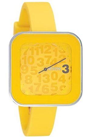 Nixon Mujer Relojes - A162639-00 - Reloj analógico y Digital de Cuarzo para Mujer con Correa de Silicona
