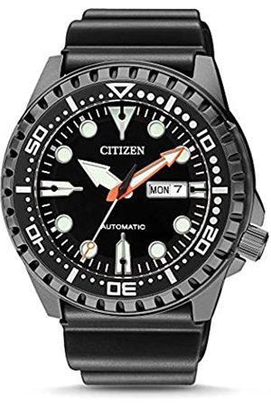 Citizen Hombre Relojes - Reloj Analógico para Hombre de Automático con Correa en Sintetico NH8385-11EE
