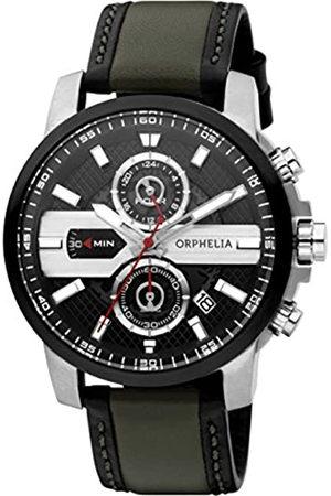 ORPHELIA Reloj Analógico para Hombre de Cuarzo con Correa en Cuero OR81600