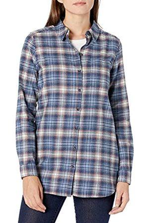 Goodthreads Brushed Flannel Boyfriend Tunic Button-Down-Shirts