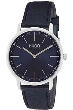 HUGO BOSS Reloj Analógico para Unisex Adultos de Cuarzo con Correa en Cuero 1520008