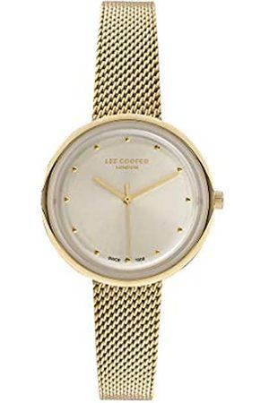 Lee Cooper Reloj Analógico para Mujer de Cuarzo con Correa en Acero LC07057