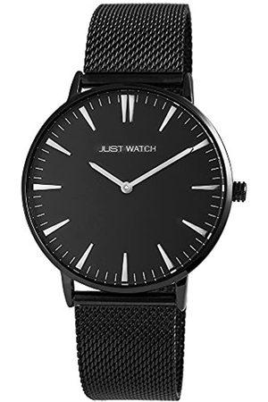 Just Watches Hombre Relojes - Reloj Analógico para Hombre de Cuarzo con Correa en Acero Inoxidable JW20004-021