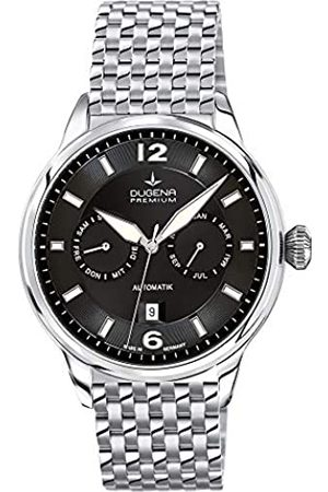 DUGENA 7090304 - Reloj para Hombre, automático, analógico, con manecillas Luminosas, Correa de Acero Inoxidable