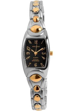 Akzent SS7111000057 - Reloj analógico de mujer de cuarzo con correa de aleación - sumergible a 30 metros