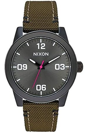 Nixon Reloj Analógico para Mujer de Cuarzo con Correa en Chapado en Acero Inoxidable A3991919-00