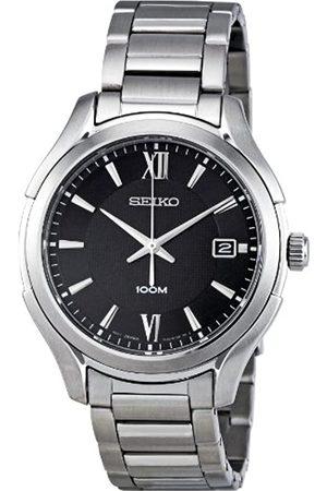Seiko Hombre Relojes - SGEF69P1 - Reloj analógico de Cuarzo para Hombre con Correa de Acero Inoxidable