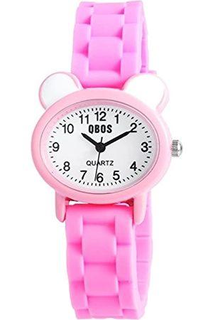 QBOS Reloj analógico para Unisex de Cuarzo con Correa en Caucho RP4828550002