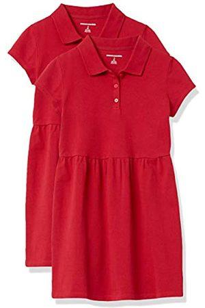 Amazon Girls' Short-Sleeve Polo Dress Playwear