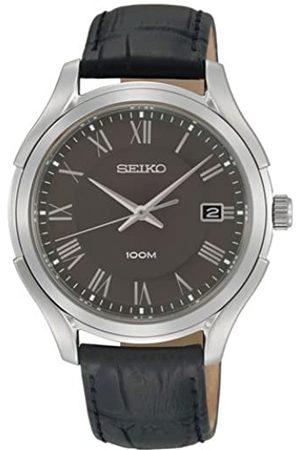 Seiko SGEF73P1 - Reloj analógico de Cuarzo para Hombre con Correa de Piel