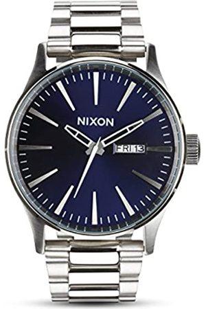 Nixon Hombre Relojes - Reloj Analógico para Hombre de Cuarzo con Correa en Acero Inoxidable A1138-2301-00