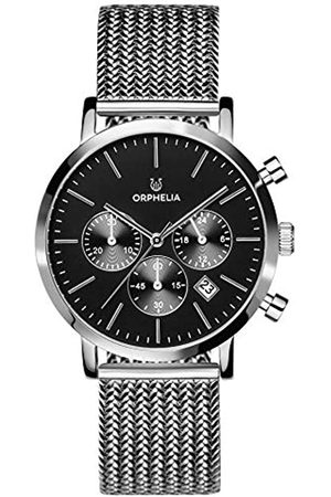 ORPHELIA Hombre Relojes - Reloj Cronógrafo para Hombre de Cuarzo con Correa en Acero Inoxidable OR82800