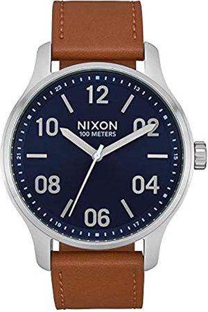 Nixon Reloj Analógico para Unisex Adultos de Cuarzo con Correa en Cuero A1243-2186-00