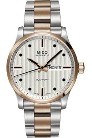 MIDO Hombre Relojes - – XL Multifort – Reloj de Pulsera analógico automático para Hombre Acero Inoxidable Revestimiento M0058302203102