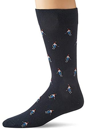 Goodthreads Hombre Calcetines - 5-Pack Patterned Socks Casual, Skier