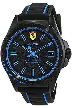 Scuderia Ferrari Hombre Relojes - Reloj Análogo clásico para Hombre de Cuarzo con Correa en Silicona 830423