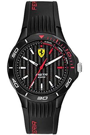 Scuderia Ferrari Hombre Relojes - Reloj Analógico para Hombre de Cuarzo con Correa en Silicona 0840038