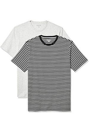 Amazon 2-Pack Slim-Fit Crewneck T-Shirt Fashion-t-Shirts, XS
