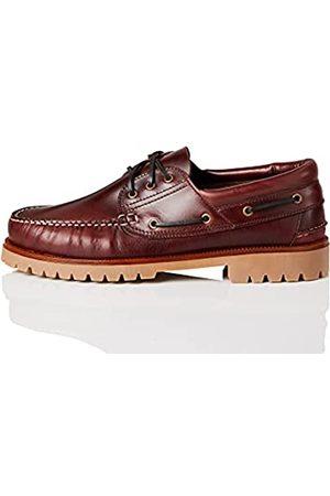 FIND AMZ142 - Leather Náuticos, Zapatos para Hombre