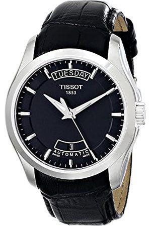Tissot Hombre Relojes - T0354071605100 - Reloj analógico de caballero de cuarzo con correa de piel negra