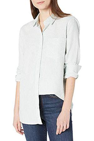 Goodthreads Seersucker Long-Sleeve Button-Front Tunic Shirt Shirts