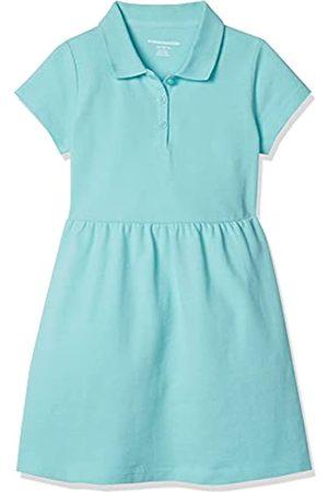 Amazon Niña De manga corta - Girls' Short-Sleeve Polo Dress Playwear