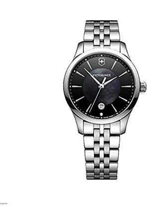 Victorinox Mujer Alliance Small - Reloj de Acero Inoxidable de Cuarzo analógico de fabricación Suiza 241751