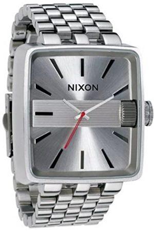 Nixon Hombre Relojes - A004100-00 - Reloj analógico de Cuarzo para Hombre con Correa de Acero Inoxidable