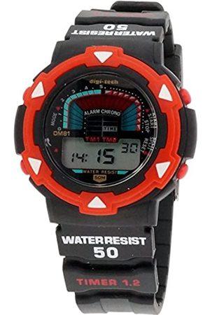 Digi-Tech Reloj Digital para Hombre de Cuarzo con Correa en Caucho DT102920