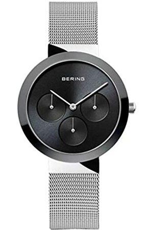 Bering Reloj ANALOGICO para Unisex de Cuarzo con Correa en Acero Inoxidable 35036-002